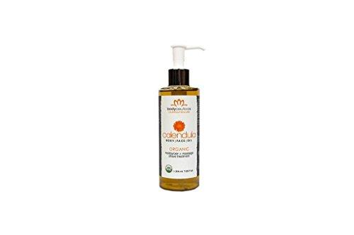 BodyCeuticals Organic Calendula Oil, 7.25 Fluid Ounce