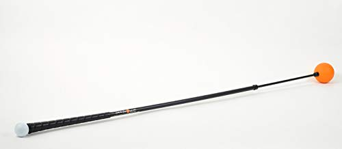 """Orange Whip Full-Sized Golf Swing Trainer Aid – for Improved Rhythm, Flexibility, Balance, Tempo, and Strength – 47"""""""