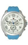 Tommy Hilfiger Classic Multifunction Silicone - Blue Women's watch #1781390