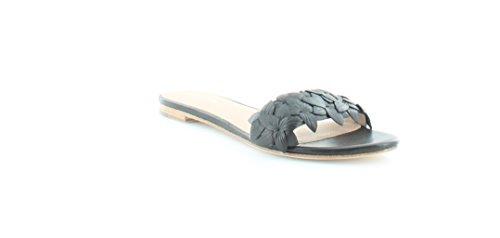 Pour La Victoire Women's Lani Flat Sandal, Black, 7 M US LANIPN
