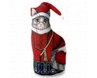 - Fiddler's Elbow FE370 Santa Kitty Doorstop