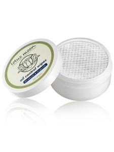 Lotus Moon Oil Control Wipes - Anti-blemish, exfoliating pads for a clearer complexion