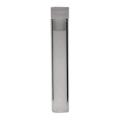 JG Finneran 9800-840 Shell Vial and Plug Convenience Pack, 1mL Capacity, Clear (Case of 1000)