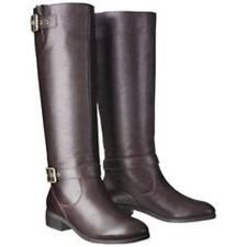 9 Rylee Mossimo Leather Brown Boots 6aITfqIwv