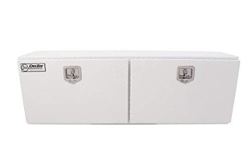 Dee Zee DZ59WH White-Tread Aluminum Topsider Tool Box - 60