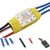 - powerday 30A Brushless Speed Controller ESC for RC Helicopter Airplane Multirotor