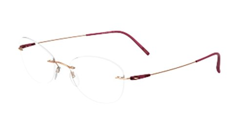Eyeglasses Silhouette Dynamics Colorwave (5500) 3530 rose gold/raspberry ()