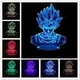 *Dragon Ball Lampe Led 3D