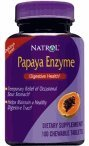 Natrol Papaya Enzyme , 100 Chewable Tablets,  (Pack of 2)