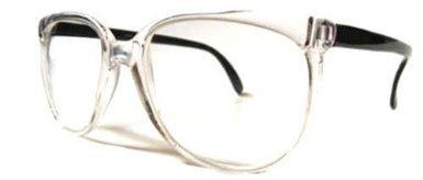 7ef41cbb7e5 Amazon.com  6906 47 (Clear) Clark Kent Nerd Glasses Clear Lens  Clothing