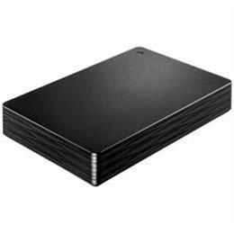 パソコン ストレージ ハードディスクHDD IOデータ HDPH-UT2DK USB 3.0/2.0対応ポータブルハードディスク「カクうす 波(なみ)」 ブラック 2TB -ah [簡素パッケージ品] B07D6KWX9Y