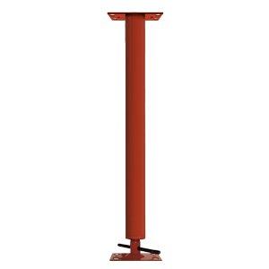 Adjustable Steel Building Column 4'' OD, 11 Gauge, 4'' Adjustment Range by Tel-O-Post