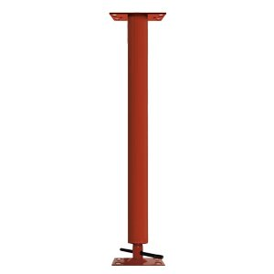 Adjustable Steel Building Column 3'' OD, 11 Gauge, 4'' Adjustment Range