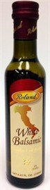 """White Balsamic Vinegar - Roland Modena Balsamic Vinegar 8.5 oz 1 Buy Roland White Balsamic Vinegar from Modena, Italy is made from a different process than our regular balsamic vinegar. The vinegar """"must"""" is not carameli"""