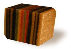 SoapRocks TS Pink Tiger's Eye Soap that looks like a Rock ~ 6 oz. Gem Rocks Birthstone Jabón Gemstone