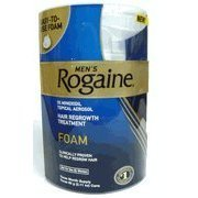 Rogaine for Men Hair Regrowth Treatment, Easy to Use Foam, 24 Months Supply, 24 Cans 2.11-Ounce Each by Rogaine