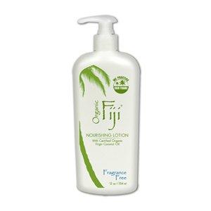 Organic Fuji - Virgin Coconut Massage Oil, 3oz, lemongrass-tangerine scented