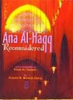 img - for Ana Al-haqq Reconsidered with Kitab Al-tawasin of Hallaj book / textbook / text book