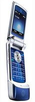 Motorola KRZR K1 Unlocked Cell Phone with 2 MP Camera, Media Player, MicroSD Slot--U.S. Version with Warranty (Cosmic Blue) by Motorola