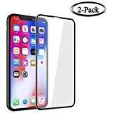 - Screen Protector Compatible for iPhone XR, Tempered Glass Screen Protector, 3D Full Frame Curved Edge, 9H Hardness, Easy Installation,Case Friendly Compatible for iPhone XR[2-Pack] … (iphone xr-2pack)