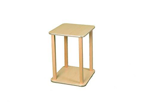Wild Zoo Furniture CPU and Printer Stand, Maple/Tan