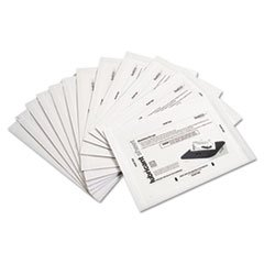 "** Shredder Lubricant Sheets, 8 1/2"" x 5 1/2"", 24 per Pack"