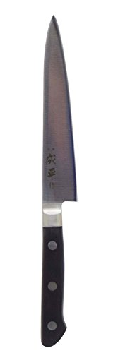 Fuji Cutlery - Narihira - 150 mm (5.91 Inches) Double Edged, Molybdenum Steel Paring Knife (Japan Import)