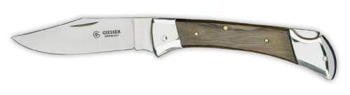 Giesser Messer Taschenschlachtmesser mit 8 cm Klingenlänge, Lange, stabile und feststellbare Klinge, Rostfrei, 7990 B00O1VXPDI Kochmesser Kostengünstig