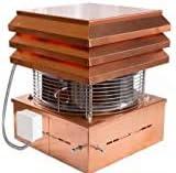 Aspirador De Humos Modelo Profesional De Cobre Para Chimenea Extractores de humo para chimeneas para barbacoa, Gemi Elettronica