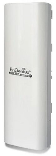 Engenius ENH202 High-powered Wireless N 300Mbps Outdoor AP/Bridge/Client - 20km Maximum Range - 1 Pack by EnGenius