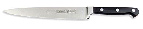 Mundial 5100 Series 8-Inch Carving Knife, Black ()