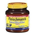Fleischmanns Bread Machine Yeast, 4 oz (Pack of 12)