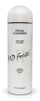 M.D. Forte Facial Cleanser II, Soap-Free, Oil-Free with Glycolic Acid - 8 fl oz