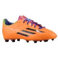 adidas F50 adizero TRX FG J - (Solar Zest/Black/Blast Purple) (4y)