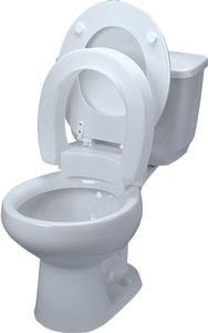 MADDAK INC. Alimed Tall-ette Hinged Elevated Toilet Seat ...