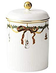 Royal Copenhagen Star Fluted Christmas 1016966 Jar with Lid ()