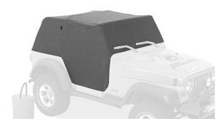 Bestop 81036-09 Charcoal All Weather Trail Cover for 1992-1995 Wrangler (Bestop Jeep Cab Cover)
