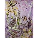 TINKERBELL AUTUMN BLOSSOM DISNEY CARTOON PLUSH 60X80 BLANKET/THROW Soft and Warm by Northwest