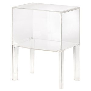 kartell ghost buster crystal small side table by philippe starck kitchen home. Black Bedroom Furniture Sets. Home Design Ideas