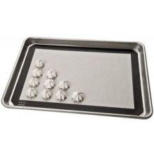 Focus Foodservice Quarter Size Silicone Bake Mat, 11 3/4 x 8 inch -- 12 per case.