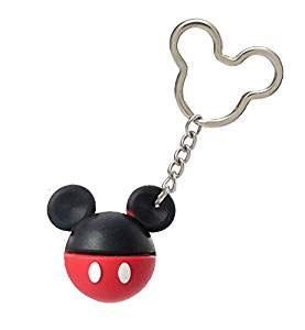 - Disney Mickey Mouse icon Ball Key Ring, Muti Color