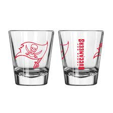 Boelter Tampa Bay Buccaneers Game Day 2oz. Shot Glass