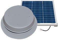Best Cheap Deal for Solar Attic Fan - 60-Watt with 25-Year Warranty! from Natural Light - Free 2 Day Shipping Available