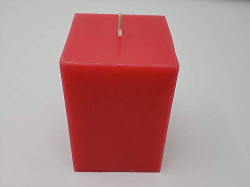 Pearberry (type) Square Pillar Candle 3 x 3 x ()