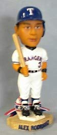 Texas Rangers Alex Rodriguez 2002 Bobble Head Doll