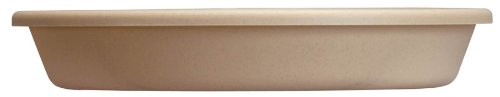 Akro Mils SLI06000A34 Classic Saucer for 6-Inch Classic Pot, Sandstone, 6.88-Inch ()
