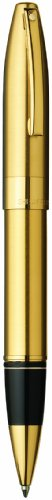 Sheaffer Legacy Heritage Roller Ball with Refill, Brushed 22K Gold Plate Finish with 22K Gold Plate Trim (SH/9031-1) -