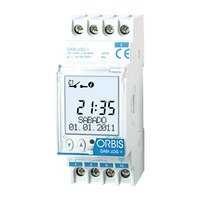 Orbis data log+ - Interruptor horario digital data log+1 circuito 12v corriente continua