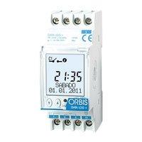 Orbis data log+ - Interruptor horario digital data log+1 circuito 12v corriente continua