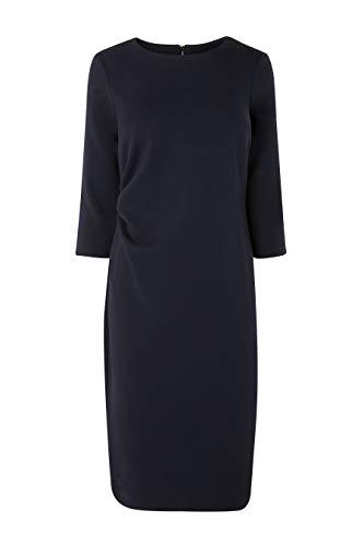 Mit Kleid Marineblau next Rüschen Damen Bodycon TZxZUpn
